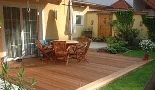 idee terrasse en bois photo de idees deco jardin les