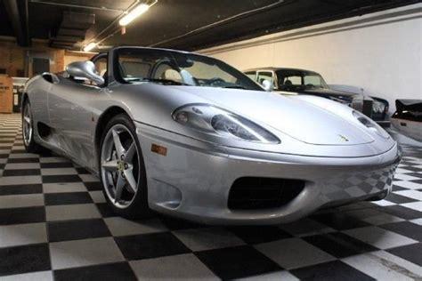 Bordeaux piping to seats, red. 2001 Ferrari 360 F1 SPIDER | Orlando Auto Museum