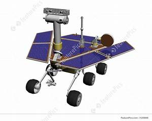 (Mars) Rover Stock Illustration I1209996 at FeaturePics