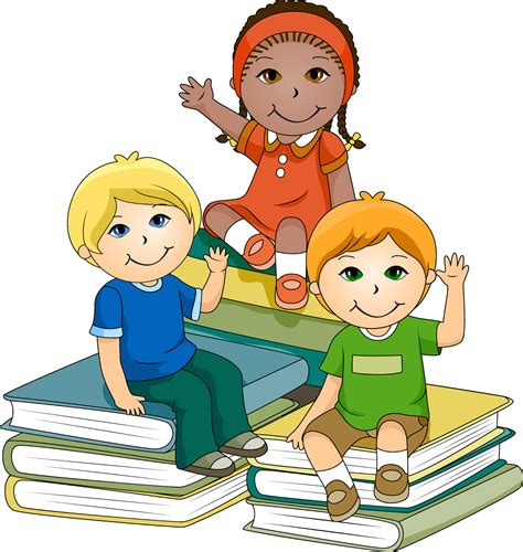 students reading clipart pictures of reading books cliparts co