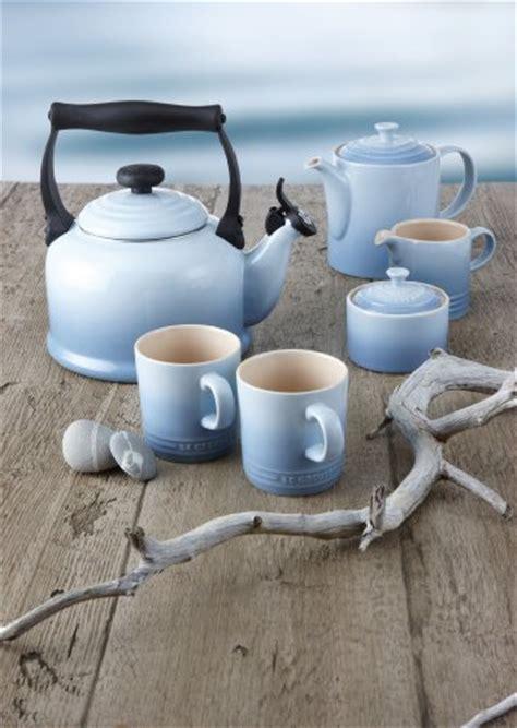 le creuset stoneware grand teapot duck egg blue