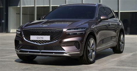 genesis gv revealed luxury medium sized suv bound