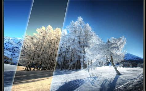 Winter Computer Wallpaper by Beautiful Winter Scenery Wallpaper Hd Wallpaper