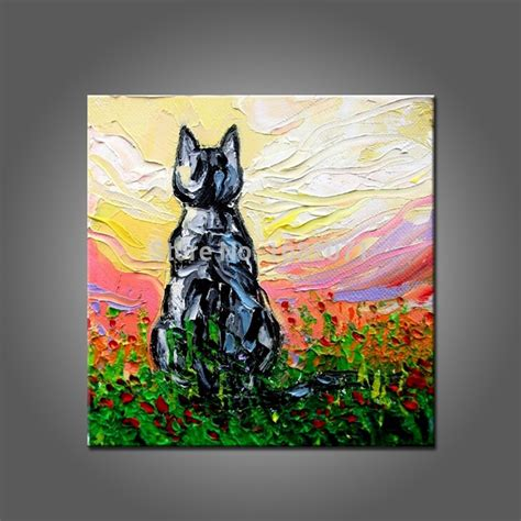 Abstract Black Cat Painting by Popular Abstract Cat Buy Cheap Abstract Cat Lots From