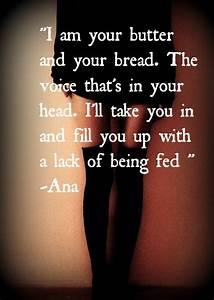 Ana Mia Quotes.... Ana And Mia Quotes