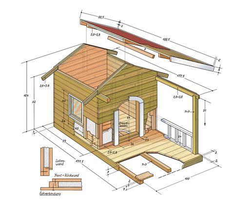 hundehütte selber bauen flachdach hundeh 252 tte selber bauen anleitung