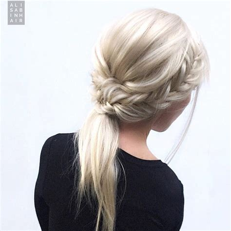 White Hairstyles by 10 Braided Hairstyles For Hair Weddings Festivals