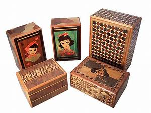 Wooden Japanese Wood Puzzle Box Plans PDF Plans