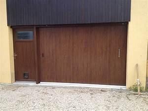 la porte de garage laterale modele quadral bourg en With lakal porte de garage