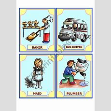 Occupation Flashcard (2 Pages) Set 1 Of 3  Esl Worksheet By Charmed One