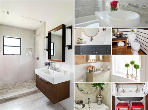 ideas for bathroom remodel rustic bathroom ideas hgtv