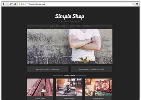 simple shop pro wordpress theme slocum themes