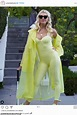 Amanda Kloots shows off her figure in snazzy yellow Ivy ...
