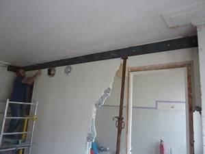 mur porteur les techniques d39ouverture With comment mettre une poutre sur un mur porteur