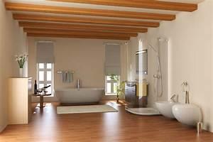 Bad Mit Holzboden : holzboden f r ihr badezimmer tipps bei ~ Michelbontemps.com Haus und Dekorationen