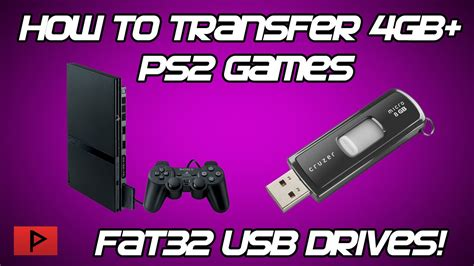 copy large gb ps games  fat usb drive