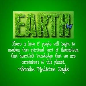 EARTH DAY QUOTE... Onegreenplanet Quotes