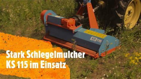 mulcher stark   schlegelmulcher fuer kleintraktor ks