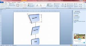 How To Create Flowcharts With Microsoft Word 2010 And 2013