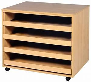 Four, Drawer, Open, Paper, Storage