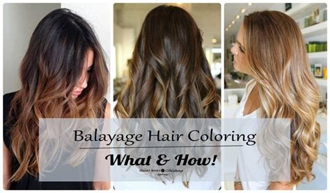 balayage hair coloring balayage hair coloring technique what how where to