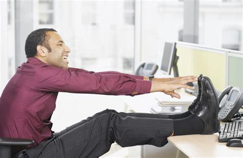 abdos au bureau abdominaux les muscler assis au bureau