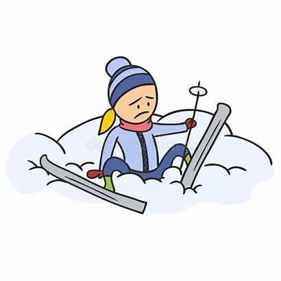 Caricature Skier Skieur Cartoon Sciatore Skiing Ski