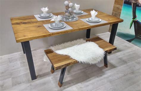 tables de cuisines table de cuisine bois table de cuisine banc en bois style