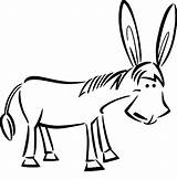 Donkey Coloring Draw Pages Mexican Drawing Shrek Face Template Clip Clipart Mule Jesus Riding Luna Drawn Surprised Sketch Clipartmag Colorluna sketch template