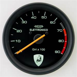 100mm Switchable Tachometer Countach