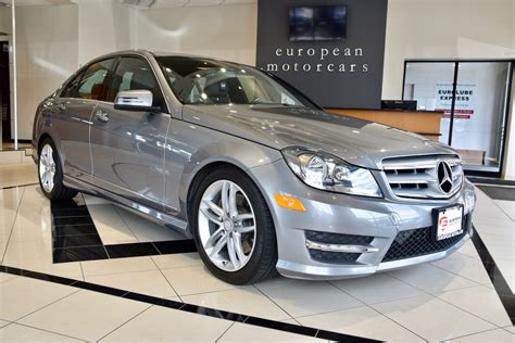 It was first introduced to the public back in 2007, during the geneva motor show. 2013 Mercedes-Benz C-Class C300 Sport 4MATIC for sale near ...