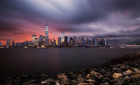 Fiery Dawn In Manhattan » Edward Reese Photography