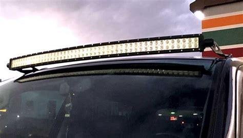 Led Straight Light Bar Mount For Toyota Tacoma