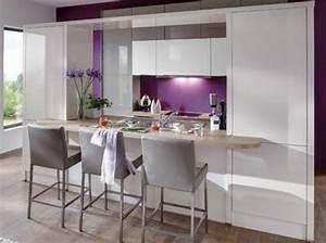 cuisines blanches les plus beaux modeles et inspirations With idee deco jardin terrasse 7 deco cuisine blanche