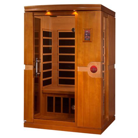 2 mann sauna dynamic quot venice quot 2 person low emf far infrared sauna