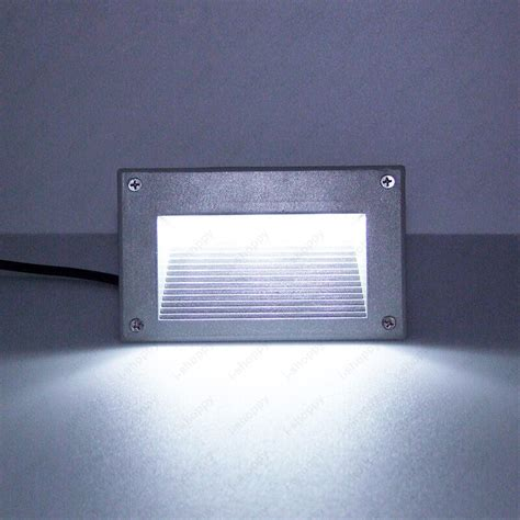 3w led outdoor wall spot light decor recessed steps l