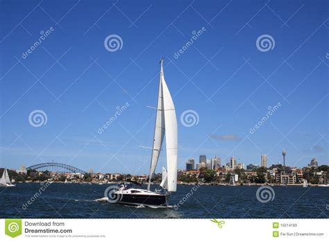 Parramatta Boat Cruise by Sail Boat In Sydney Harbour Stock Photos Image 15514193