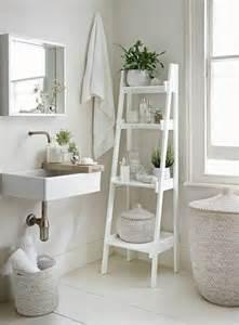 25 best ideas about white ladder shelf on bathroom ladder shelf ladder shelves and