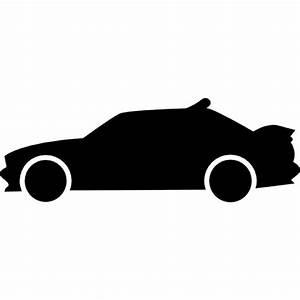 Cote Voiture Gratuite Avec Kilometrage : course vue de c t de la voiture silhouette t l charger icons gratuitement ~ Gottalentnigeria.com Avis de Voitures