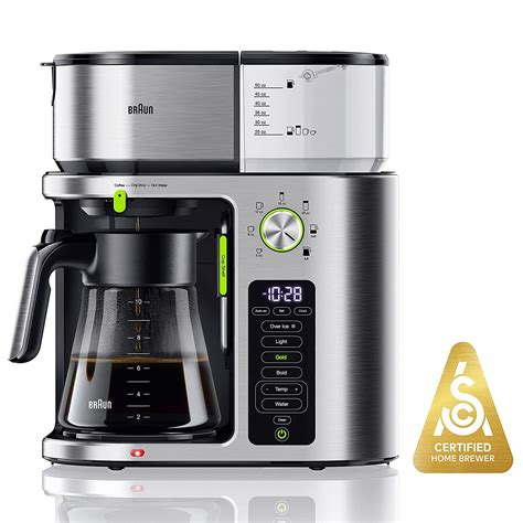 The thermal coffee carafes makers keep the cold and hot drinks at an equivalent temperature, therefore. Best Braun Coffee Maker Stainless Steel Carafe - Home & Home