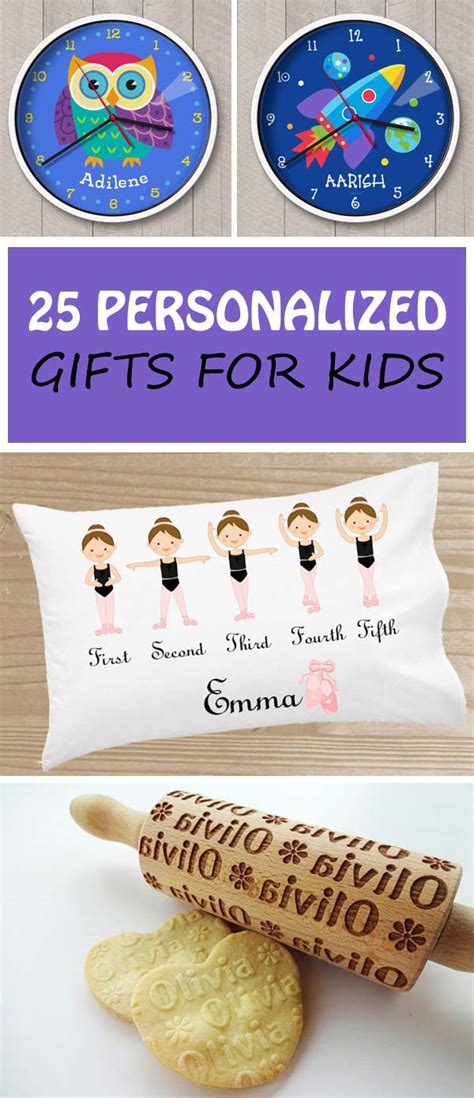 25 personalized gifts for kids non toy gifts