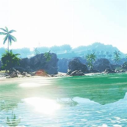 Beach Summer Sun Beauty Ocean Tropical Gifs