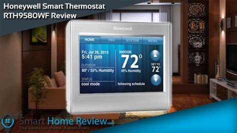 honeywell smart home honeywell smart thermostat rth9580wf review the smart home review