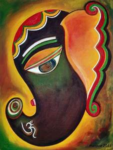Om ganesha paintings | ganesha | Pinterest | Ganesha ...