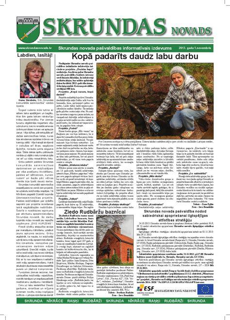 Skrundas novads novembris 2013 by Skrundas novads - Issuu