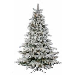 decoration ideas small snow covered flocked artificial tree and small lights combine