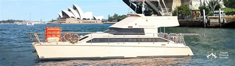 Catamaran Boat Share Sydney by Cloud 9 Boat Hire Private Boat Charter Sydney Harbour