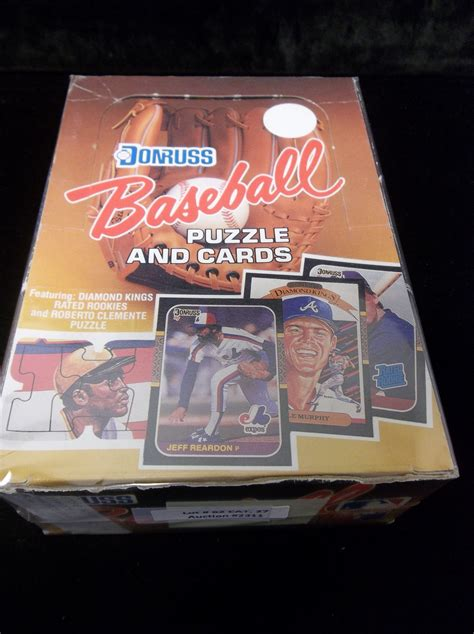 Most of my friends were in the same boat. Lot Detail - 1987 Donruss Baseball- 1 Unopened Wax Box