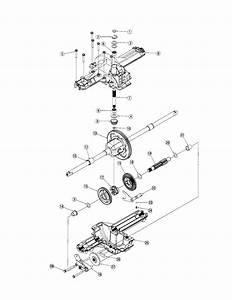 Differential Diagram  U0026 Parts List For Model Lx460 Toro