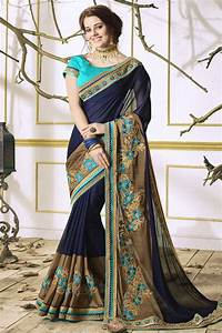 Dhoti Saree Design Fancy Designer Embroidery Work Sarees Catalog 2018